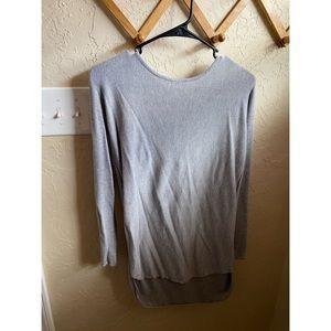 ⋒ gray sweater